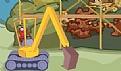 挖掘机搞破坏