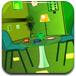 明亮的绿色房间逃脱