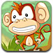爱吃水果的小猴子