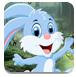可爱的兔子逃脱