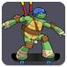 忍者神龟玩滑板