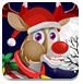 圣诞老人的小麋鹿