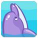 小海豚偷懒