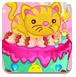 好看的动物生日蛋糕