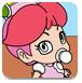 小桃子公主填颜色