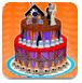 万圣节婚礼蛋糕