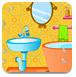 公主布置彩色浴室
