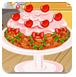 圣诞老人制作蛋糕