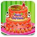 公主制作圣诞蛋糕