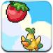 小鸟吃水果