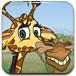 长颈鹿解救小动物