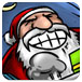 扔飞圣诞老人