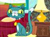 美眉宠物猫