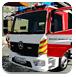 奔驰消防车图片拼图