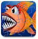 巨齿鱼图片拼图