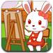兔小贝填色游戏