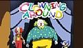 马戏团小丑空中表演