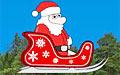 圣誕老人滑雪橇