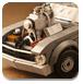 乐高玩具赛车图片拼图