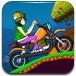 山地摩托驾驶挑战赛