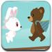 小熊抢劫小兔子