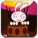 兔子駕駛熱氣球
