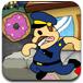 警察抢甜甜圈