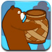 熊大给熊二送月饼