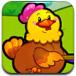 鸡妈妈接小鸡