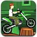 少年骇客表演摩托特技