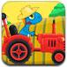 小恐龙驾驶拖拉机