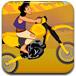 阿拉丁驾驶摩托