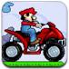 马里奥驾驶摩托