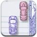 手绘汽车比赛