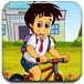骑车回学校