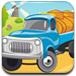 农场卡车停靠驾驶
