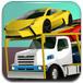 驾驶超长运输拖车