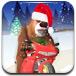 熊大雪地骑摩托