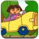 可爱朵拉驾驶停车