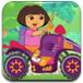 朵拉骑摩托去上学