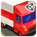 玩具卡车停车