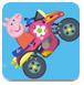 粉红小猪热力摩托
