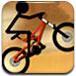 火柴人駕駛越野自行車