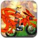 漩涡鸣人驾驶越野摩托