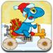 恐龍自行車圣誕節版