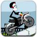 駕駛骷髏摩托車