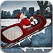 圣诞老人驾驶雪橇车