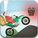 圣诞老人骑摩托