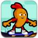 小小萝卜头玩滑板