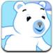 爱滑雪的小熊
